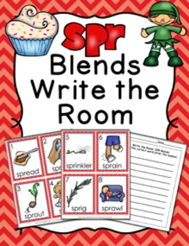 SPR Blends Write the Room Activity