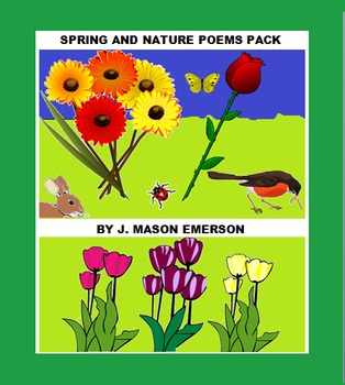 LITERATURE, POEMS: SPRING AND NATURE POEMS PACK (SALE, 80 PPs!)