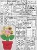 SPRING- Literacy and Math Fun- 90+ NO PREP PRINTABLES (PRE