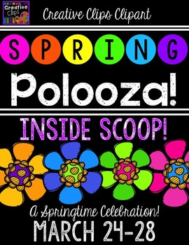 SPRING POLOOZA INFORMATION {Creative Clips Digital Clipart}