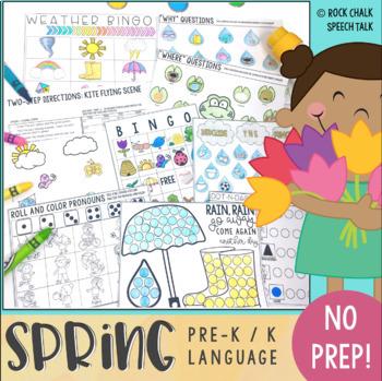 SPRING Print & GO! Speech/Language Pack