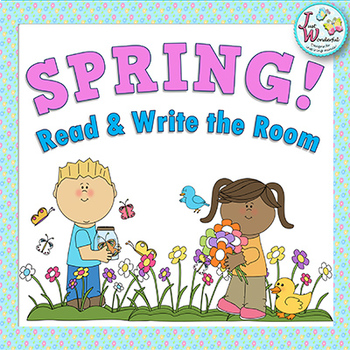 Write the Room Spring Literacy Activities and Worksheets