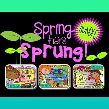 SPRING has SPRUNG Bundle! {Nature booklet, fresh flowers &