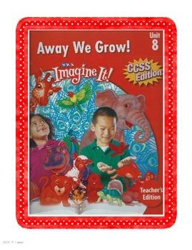 SRA Imagine It First Grade Unit 8 Away We Grow