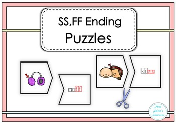 SS,FF Endings Puzzles