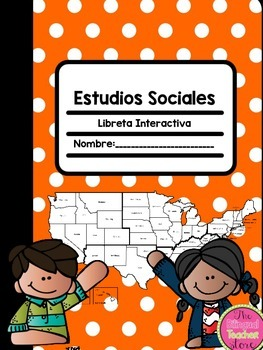 SS INTERACTIVE NOTEBOOK IN SPANISH