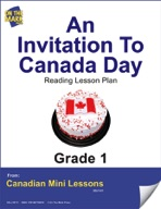An Invitation to Canada Day Reading Lesson Gr. 1