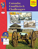 Canada: Conflicts & Challenges 1800-1850 Gr. 7 (Enhanced eBook)