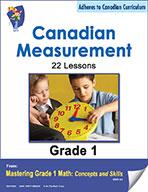 Canadian Measurement Lessons for Grade 1 (eBook)