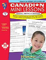 Canadian Mini Lessons - Reading, Writing, Grammar Grade 2