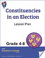 Constituencies Grades 4 to 8 (e-lesson plan)