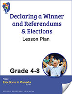 Declaring A Winner, Referendums & Elections Grades 4 to 8