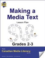 Making a Media Text Lesson Plan Gr. 2-3