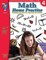 Math Home Practise Grade 4 (Enhancec eBook)