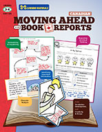 Moving Ahead With Book Reports Grades 3-4 - Canadian (eBook)
