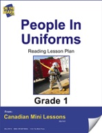 People in Uniforms Reading Lesson Gr. 1