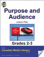 Purpose and Audience Lesson Plan Gr. 2-3