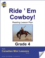 Ride 'Em Cowboy! Reading Lesson Gr. 4