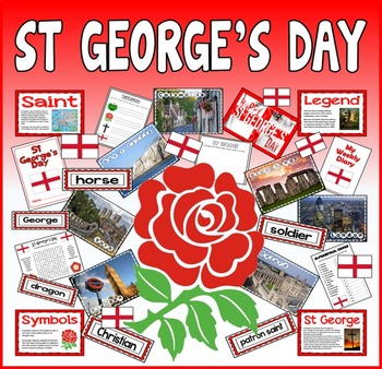 ST GEORGE'S DAY TEACHING RESOURCES KS1-2 CELEBRATION TRADI