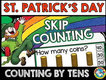 ST. PATRICK'S DAY MATH (COINS SKIP COUNTING CLIP CARDS) CO