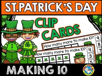 ST PATRICKS DAY MATH CENTER: MAKING TEN LEPRECHAUN HATS CL
