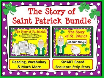 ST. PATRICK'S DAY BUNDLE: The Story of St. Patrick Reading