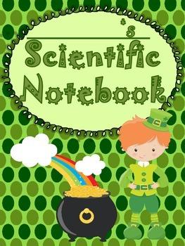 ST. PATRICK'S SCIENTIFIC METHOD - Experiment Log Booklet