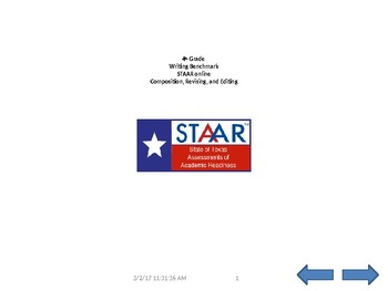 STAAR A formatted expository writing , revising & editing