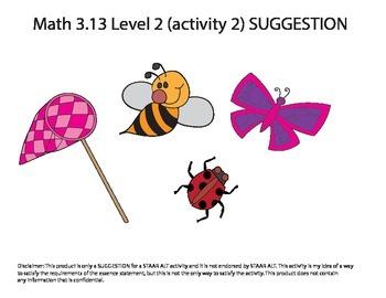 STAAR ALT MATH 3.13 Level 2 (activity 2) SUGGESTION