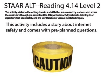 STAAR ALT READING 4.14 level 2 activity 2 SUGGESTION