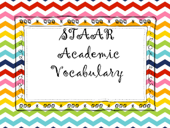 STAAR Academic Vocabulary
