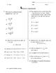 STAAR EOC Algebra 1 – Checkpoint A.8A