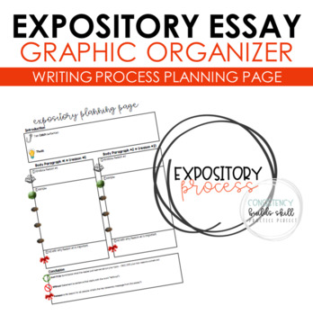 STAAR Expository Essay Graphic Organizer Planning Page