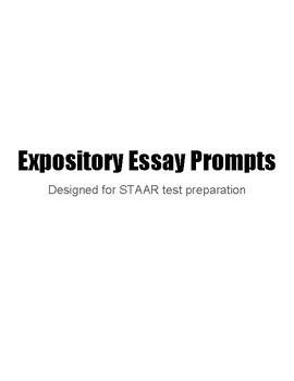 STAAR Expository Essay Prompts