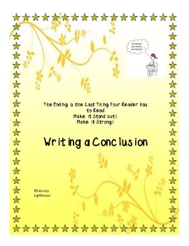 STAAR Expository: Writing a Conclusion