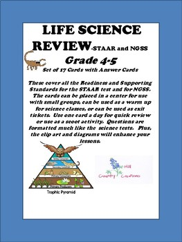 LIFE SCIENCE REVIEW for Grades 4- 5