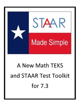 Free Sample of STAAR Made Simple New TEKS 7.3(A) and 7.3(B)