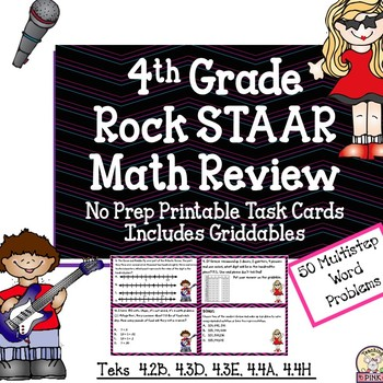 STAAR Don't Stress the Test Math Review