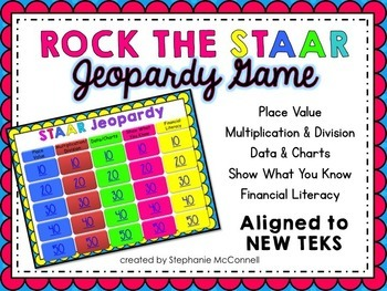 STAAR Math- Rock The STAAR Test Jeopardy Game