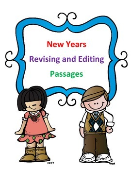 STAAR New Year's Grammar Passages: Revising Passage and Ed