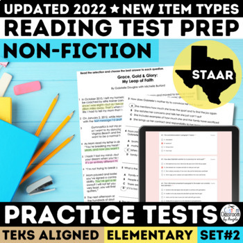 STAAR Non-Fiction Reading Passages Grade 3-5