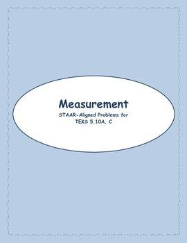 5th STAAR Measurement 5.10A & C (New TEKS 5.7 & 5.4H)