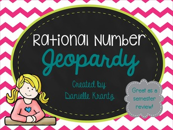 Rational Number Review - Jeopardy Game