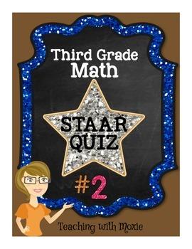 STAAR Quiz #2 - Third Grade Math