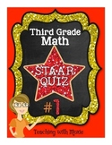 STAAR Quiz Bundle - Third Grade Math