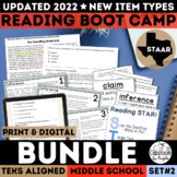 STAAR Reading Boot Camp Bundle II