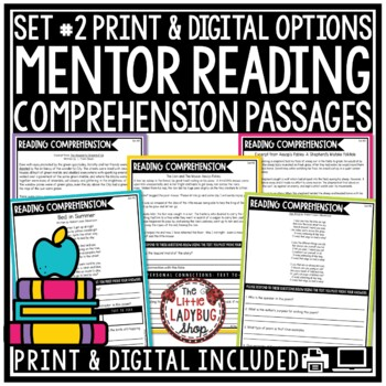 STAAR Reading Comprehension Passages 3rd Grade & 4th Grade