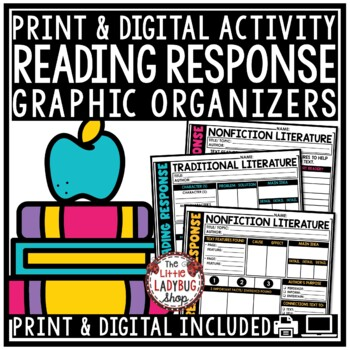 STAAR Reading Response Graphic Organizers  • Reading STAAR