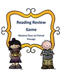Reading Activity Game Test Review Mystery Clues with a Pai