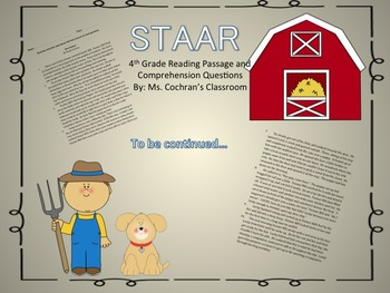 STAAR Reading - The Farmer Combo
